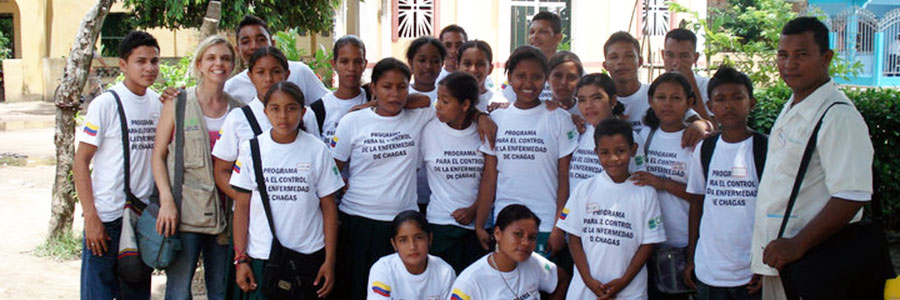Raising Chagas disease awareness in Mompox, Colombia